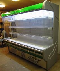 428 Přístěnná chladicí vitrina 2,5 m